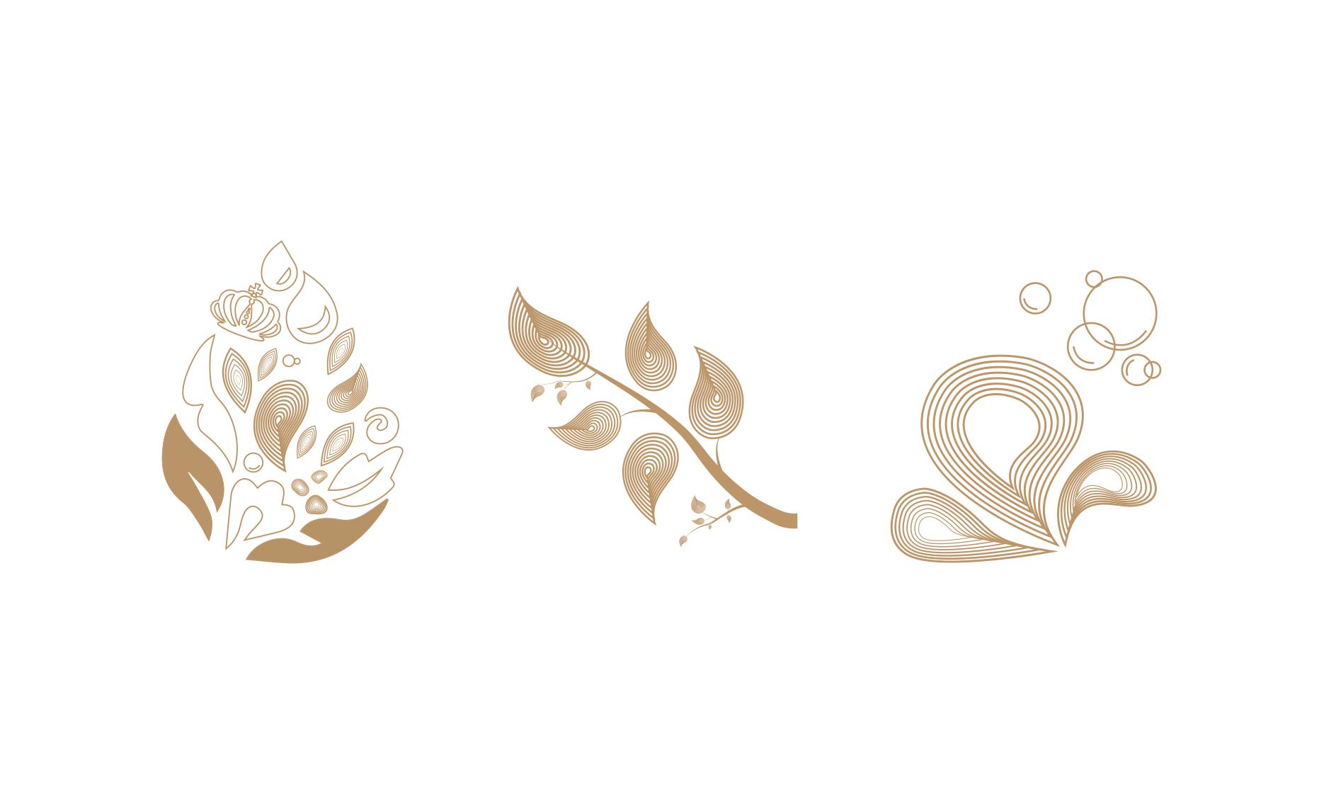 LEKKI乐颜集品牌全案策划设计:辅助图形