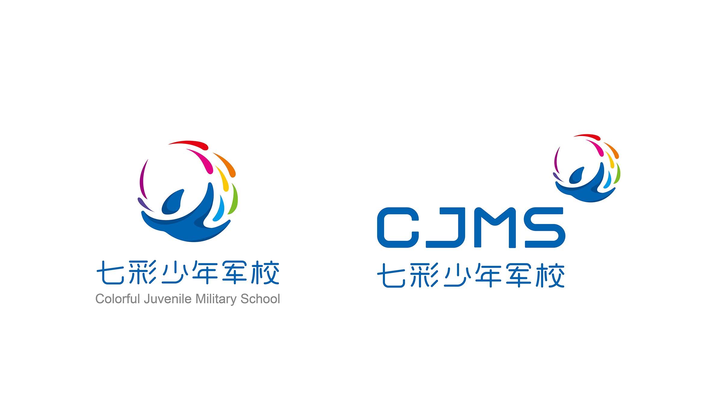 品牌logo:七彩少年军校